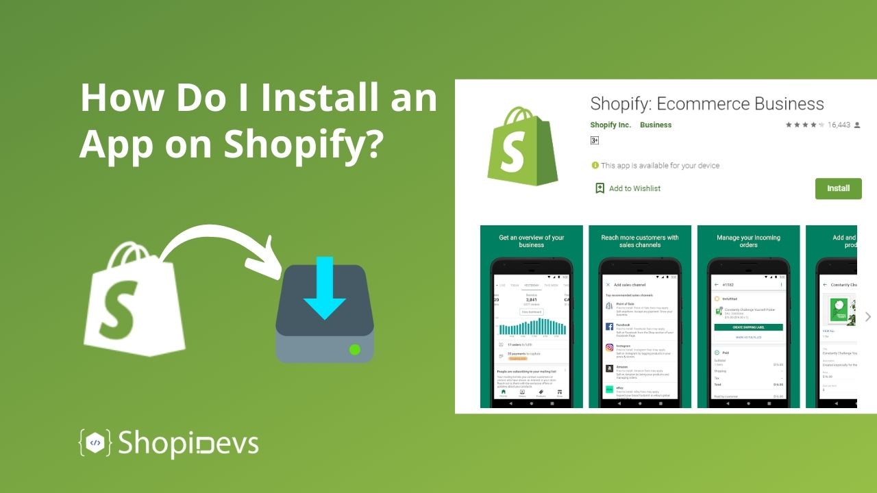 How Do I Install an App on Shopify?