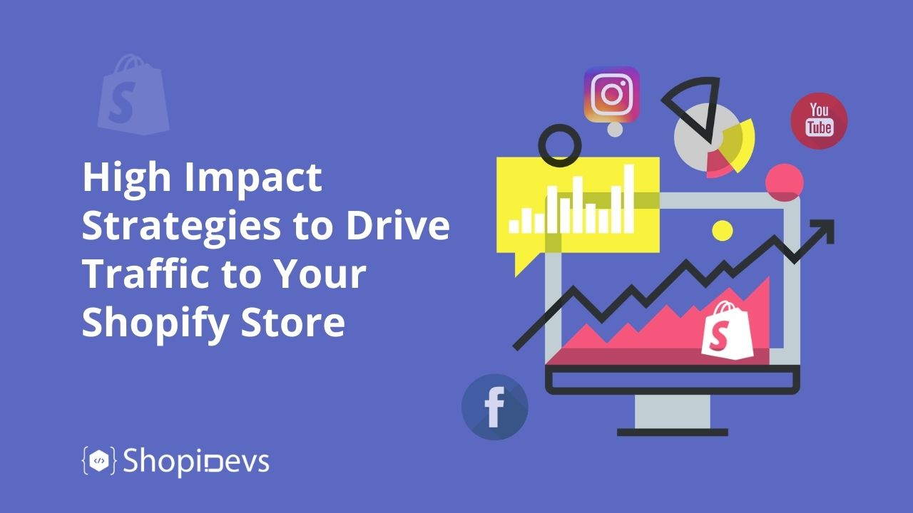 High Impact Strategies to Drive Traffic to Your Shopify Store