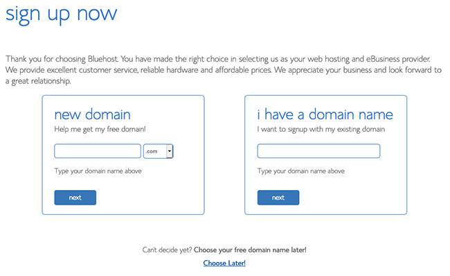bluehost-choose-domain