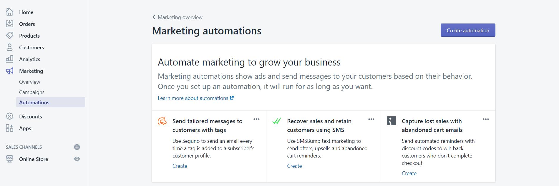 shopify-marketing-automation