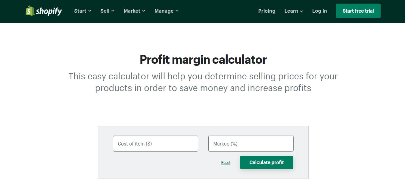 profit-margin-calculator-shopify-tools