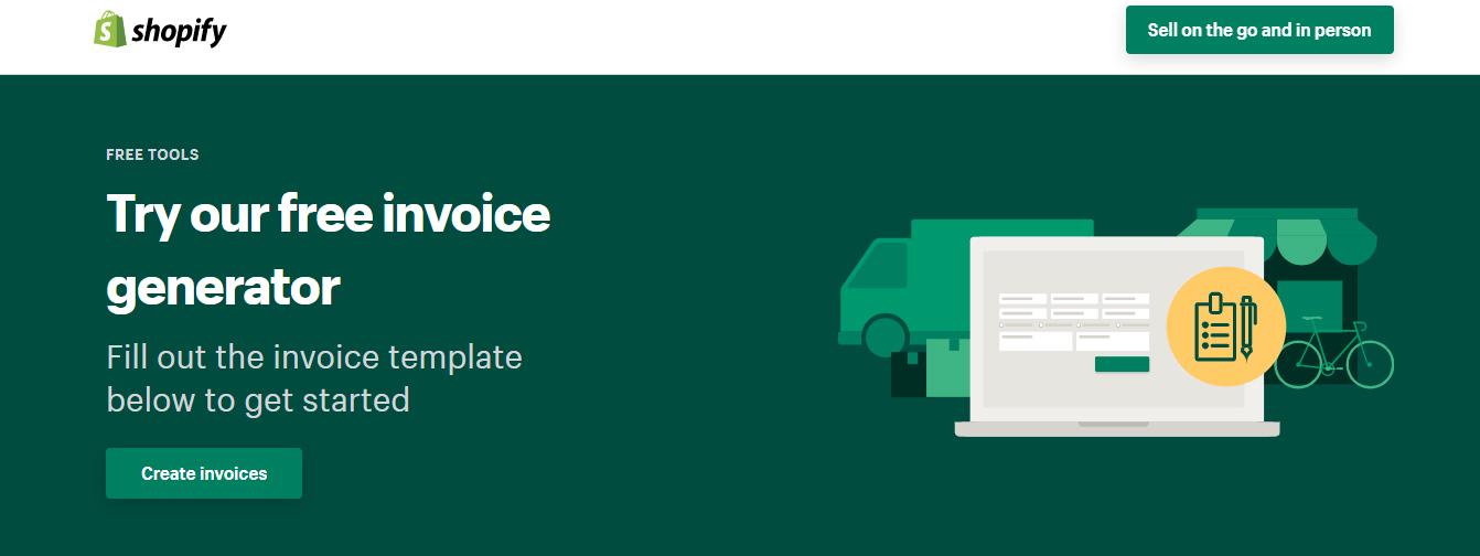 shopify-tool-invoice-generator